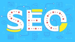 Search engine optimization graphic for an SEO company IN