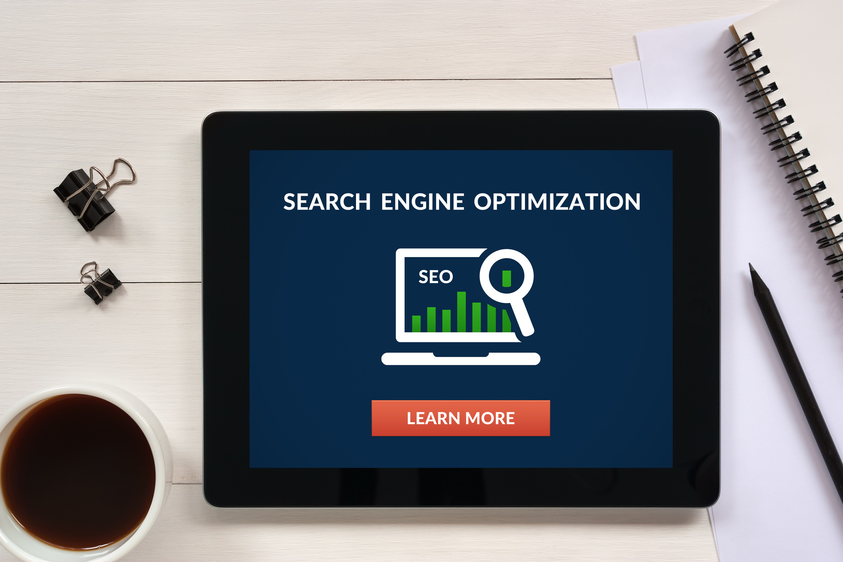 Search engine optimization predictions concept for when wanting to improve your online presence with a reliable SEO marketing company in NW Indiana.