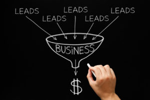 lead generation to sales concept for when wanting to develop your website with an experienced digital marketing team